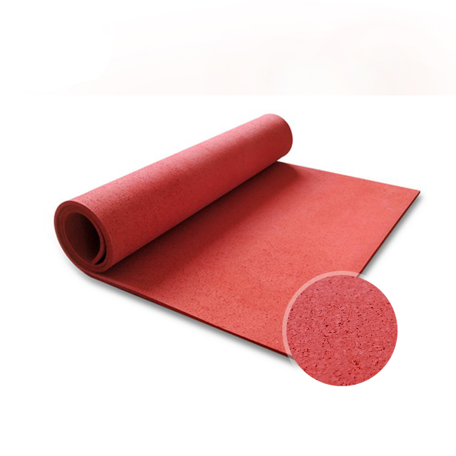 Rubber Flooring Rolls with Solid Colors