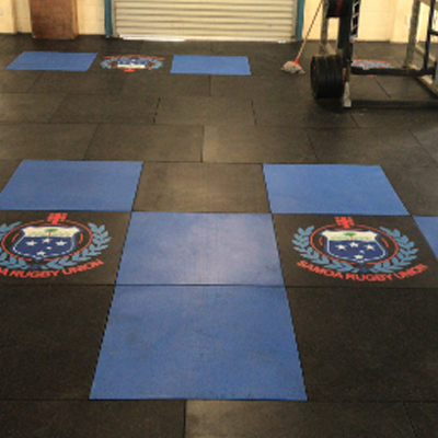 360 multi-functional rubber mat - use in the gym