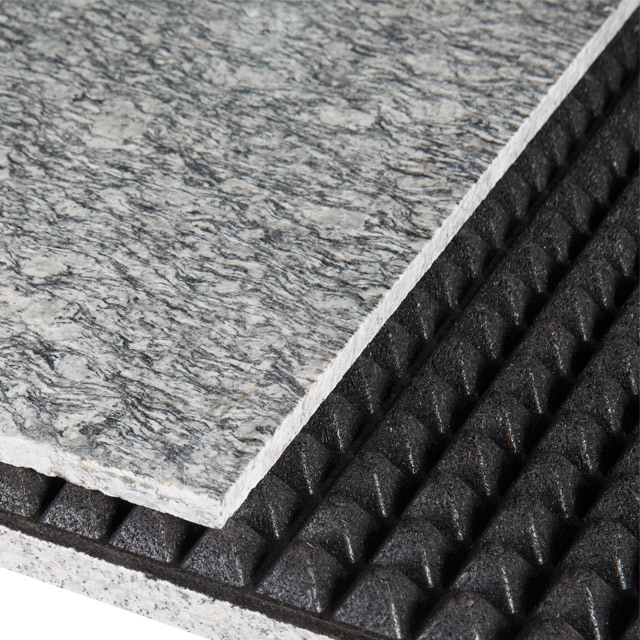 High-strength sound insulation floor mat